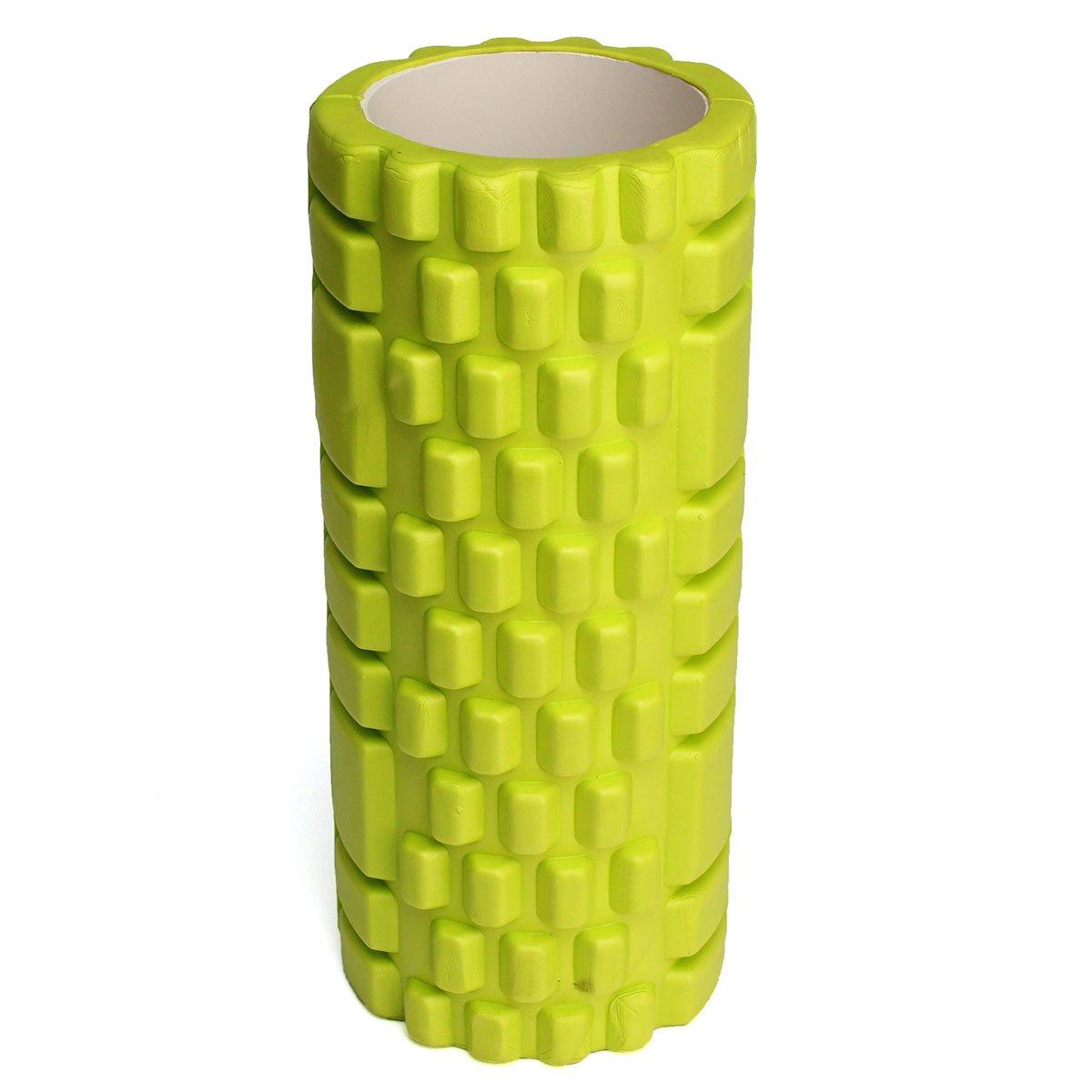 Pink Bluelover 34X14Cm Pilates Fitness Foam Roller Home Gym Massage Trigger Point
