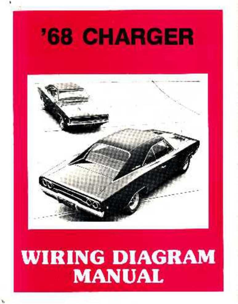 Amazon.com: bishko automotive literature 1968 Dodge Charger Electrical Wiring  Diagrams Schematics Factory OEM Book: AutomotiveAmazon.com