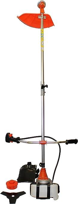 Desbrozadora de gasolina, podadora para cortar césped, 3 CV, 2 en 1: Amazon.es: Bricolaje y herramientas