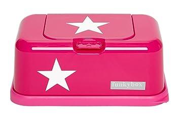 Funky Caja para toallitas húmedas Box en rosa con estrella, Baby Toallitas dispensador: Amazon.es: Bebé