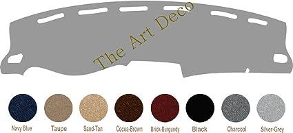 Premium Custom Carpet The ArtDeco Custom Made Dash Cover Fits 2016-2019 Toyota Tacoma Dash Cover Dashboard Cover Mat Dash Pad Black