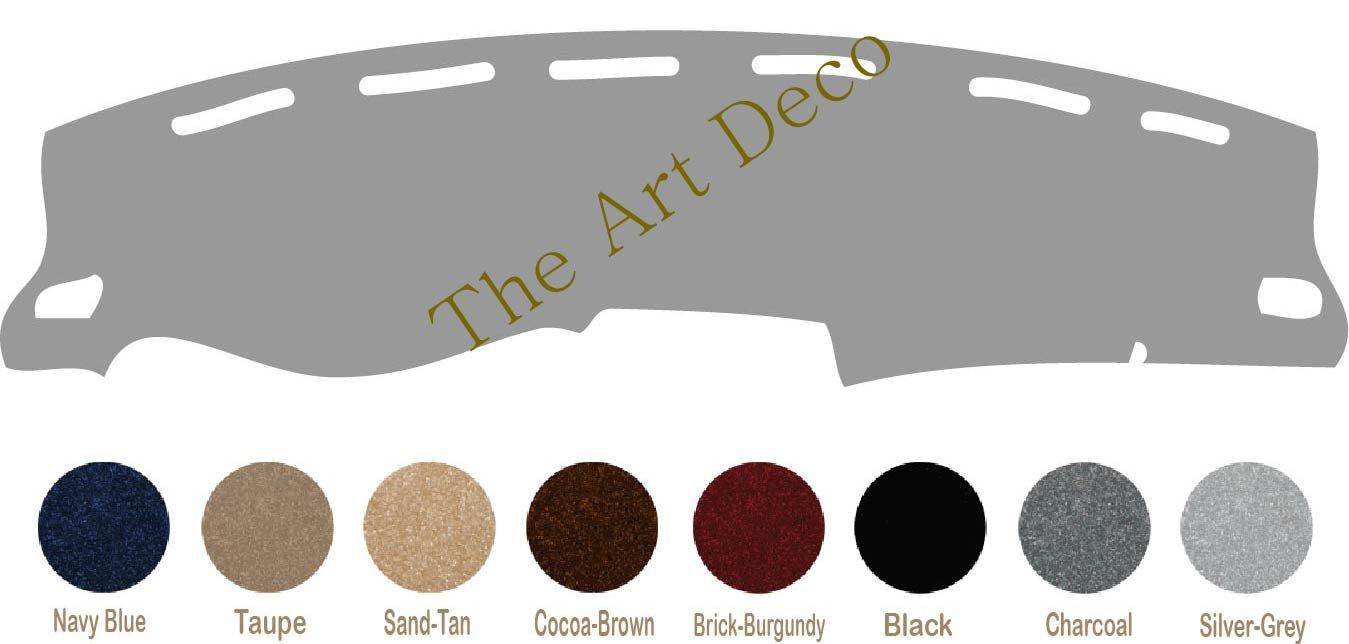 Black The ArtDeco Custom Made Carpet Dash Cover Fits for Infiniti M35 Dashboard Cover Mat Pad Fits 2006-2010