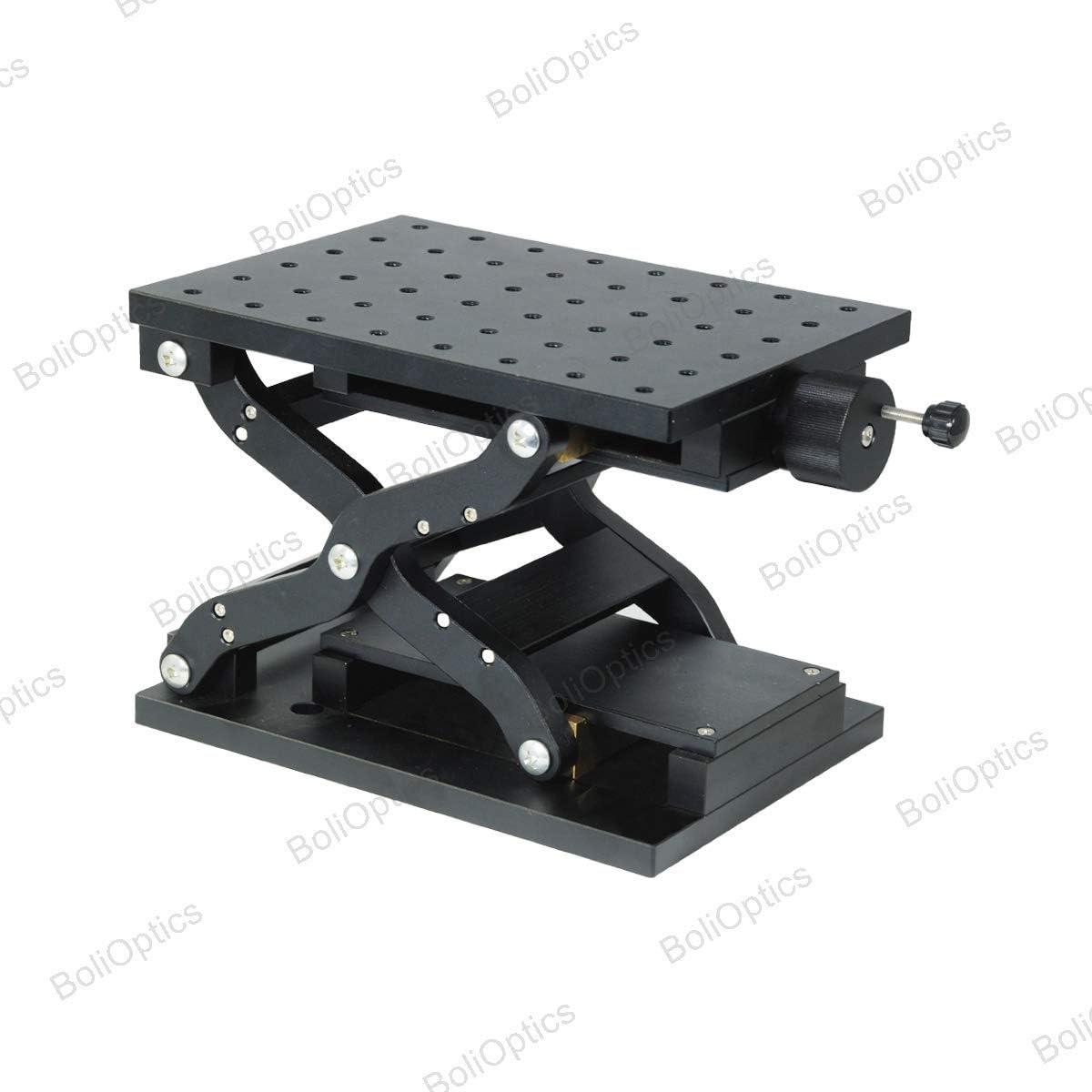 Bearing Tuning Sliding Platform BoliOptics XYZ Manual Lift Z-Axis Microscope Stage Travel Translation Mechanical Stage SG02201211