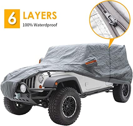 Extra Large PARFAITEMENT voiture respirant anti-poussi/ère Protection UV /étanche Couverture for Off Road SUV Anti-UV Car Cover