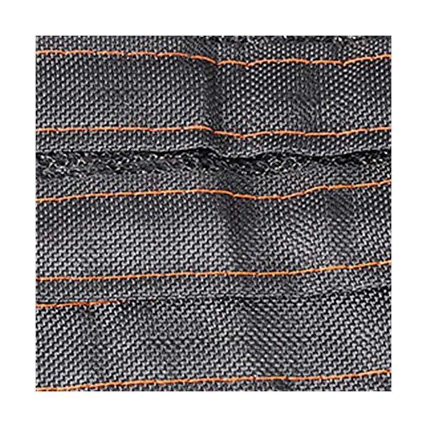 Giow - Telo protettivo per protezione solare da balcone, con asola antipolvere, 4 angoli, 12 misure (colore: nero… 6 spesavip