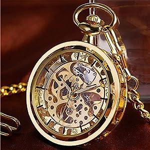 shiny steampunk pocket watch