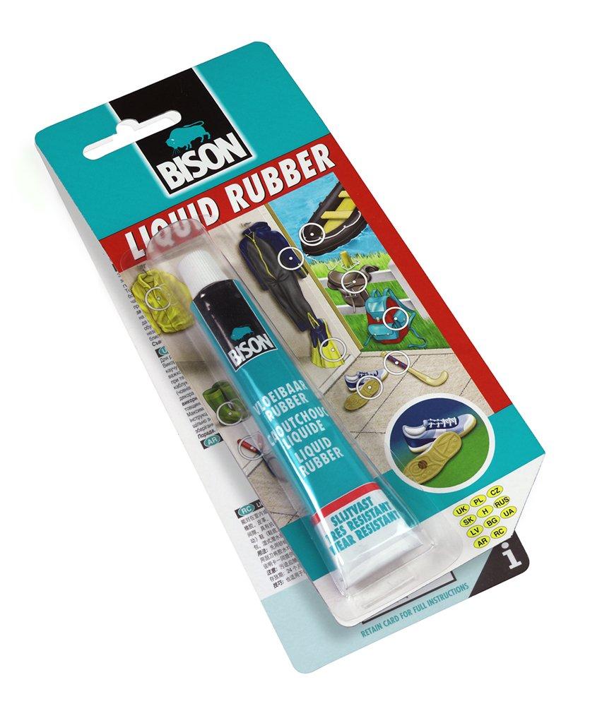 1 x 6308250 Bison Liquid Rubber Adhesive Repair Paste 50ml Tube