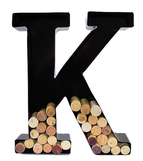 Amazon.| Wine Cork Holder   Metal Monogram Letter (K): Bar