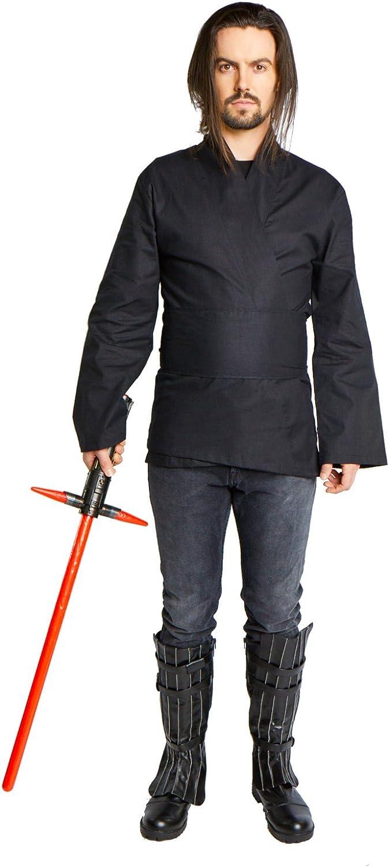 Amazon.com: Disfraz de túnica de Jedi Sith para hombre ...