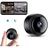 Mini Spy Camera with Audio,Wireless WiFi Hidden Mini Camera 1080P HD Home Security Cams with Cell Phone App(IOS/Android…