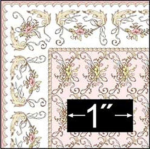ドールハウスミニチュア1 : 24スケール聖エリザベスピンクラグ B015G28TWW