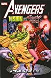 img - for Avengers: Vision & The Scarlet Witch - A Year in the Life book / textbook / text book