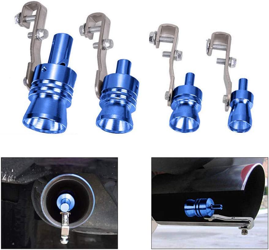 Universal Aluminium Turbo Sound Auspuff Whistle Turbo Sound Simulator Whistle Externer modifizierter Schalld/ämpfer f/ür alle Fahrzeugmodelle Auto Turbo Whistle