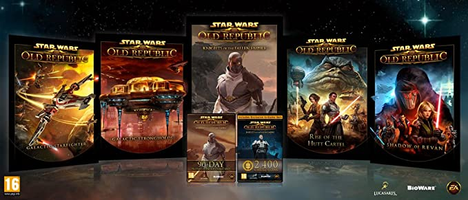 Star Wars The Old Republic Knights Of The Fallen Empire Start