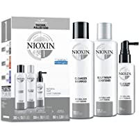 Nioxin System 1 Hair Care Kit for Natural Hair with Light Thinning, 3 Count, Trial...