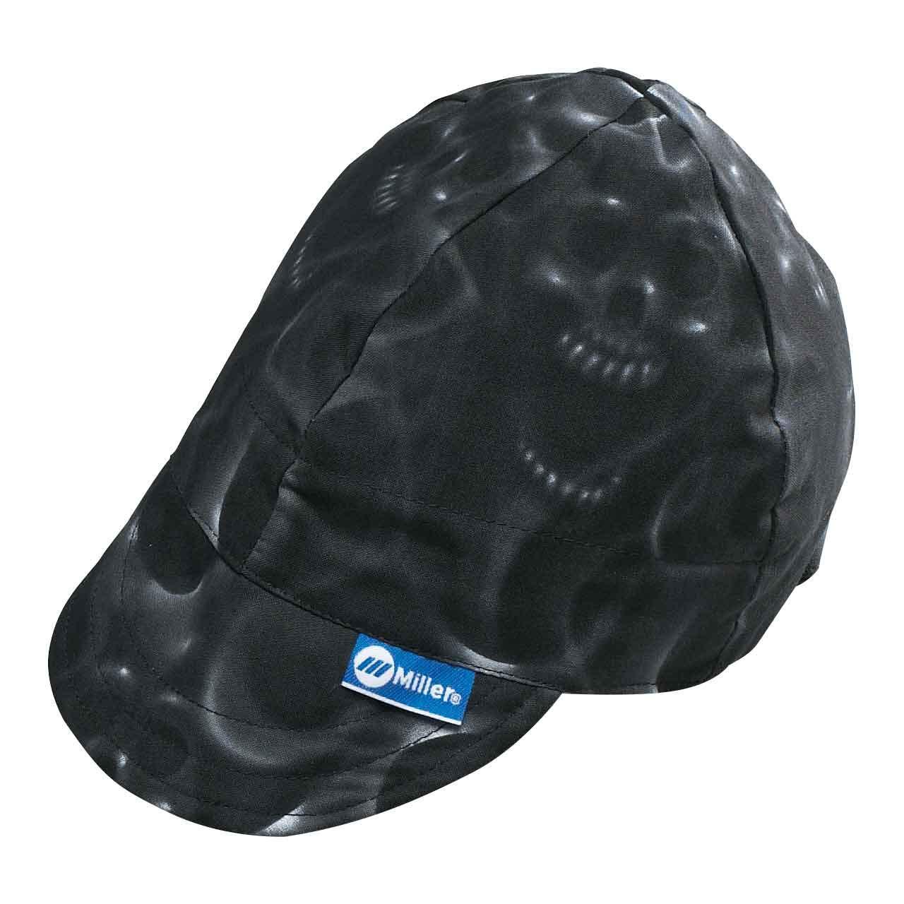 Miller Genuine Arc Armor Ghost Skulls Welding Cap 7-1/4'' - 230543