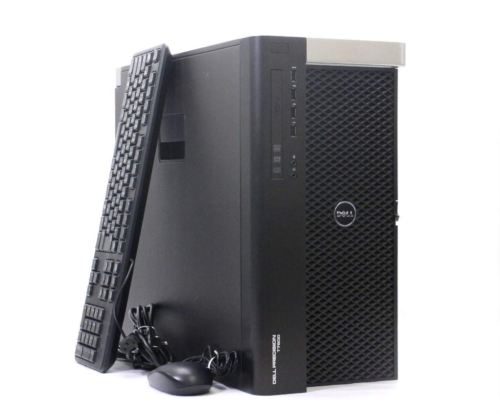 【中古】 DELL Precision T7600 Xeon E5-2687W 3.1GHz*2 64GB 256GB(SSD) 1TB Quadro 600 Tesla K40c Windows7 Pro 1300W電源 小難あり B07PJ3HP7M