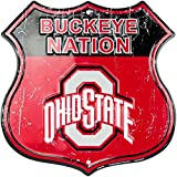 HangTime Buckeye Nation - Ohio State University Route Sign