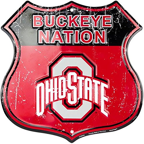 Buckeye Nation - Ohio State University Route Sign