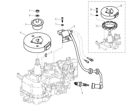Amazon Com Southmarine Boat Engine 6bx 85571 00 Electronic Parts