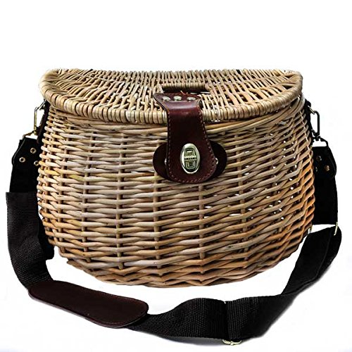 Fishing Baskets (set of 6) 8 x L 13 x 9 in by suppliesforgiftbasket