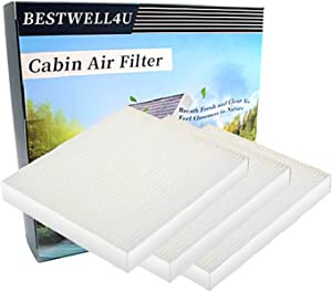 Replace CF11819,CP819,Replacement for Hyundai,Kia Cabin air filter, 3 Pack