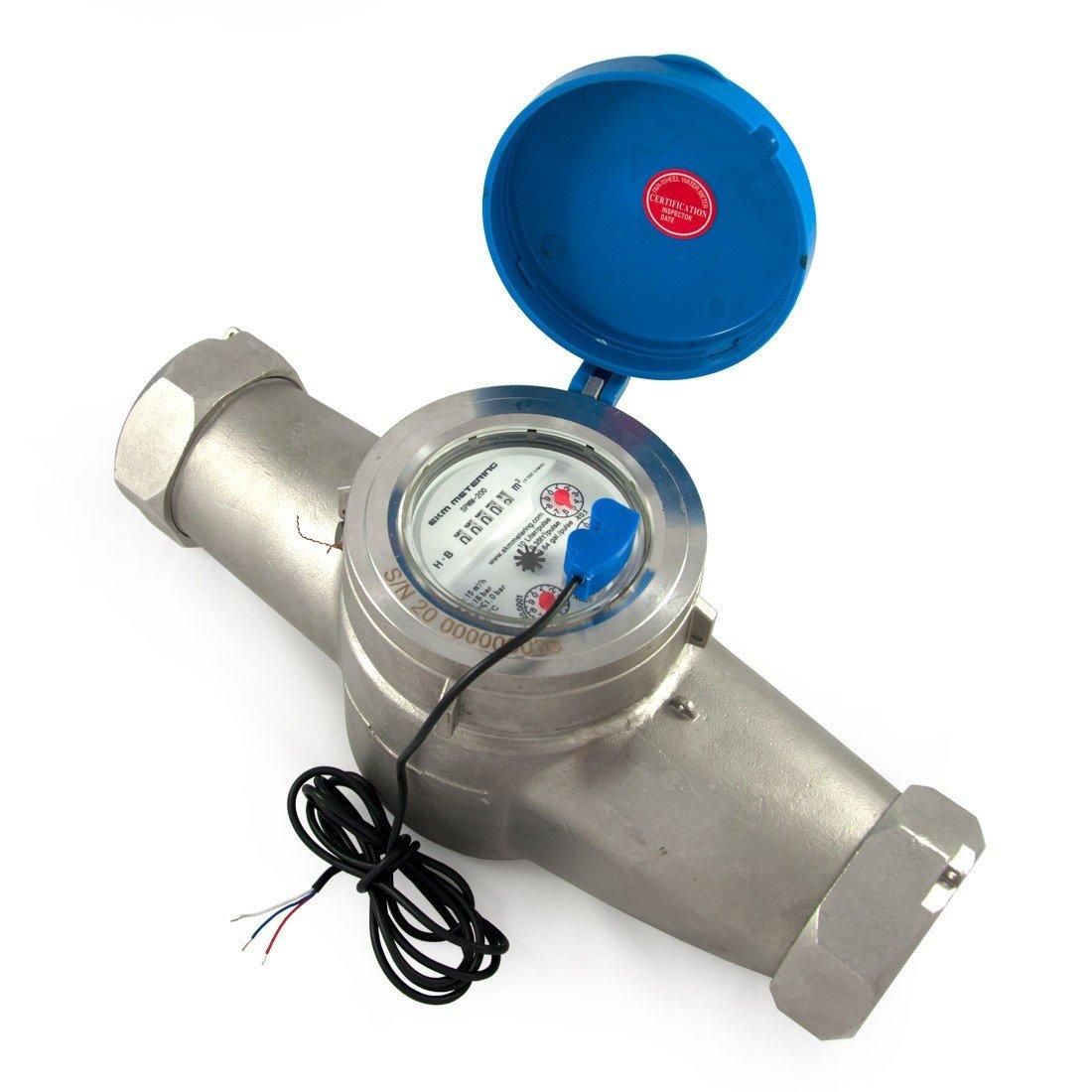2'' Water Meter - Stainless Steel, Pulse Output by EKM Metering Inc. (Image #1)
