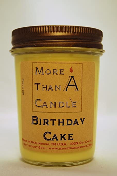Amazon More Than A Candle Bdc8j 8 Oz Jelly Jar Soy Candle