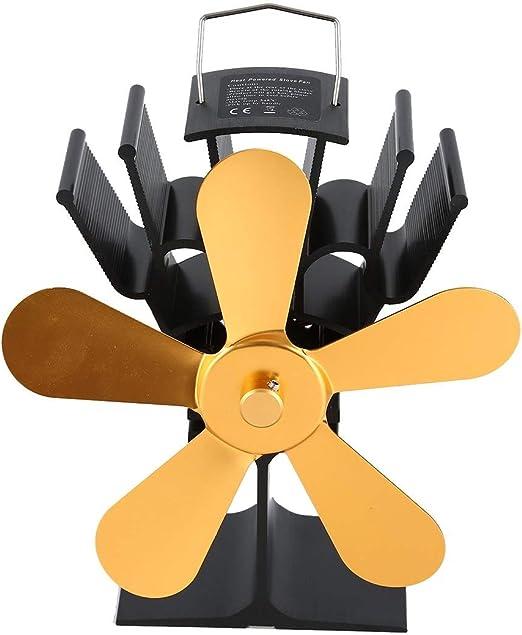 Ventilador de Chimenea de energía térmica Ventilador de Estufa de ...