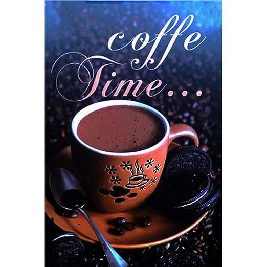 YOMIA - Carteles metálicos para horario de café, diseño ...