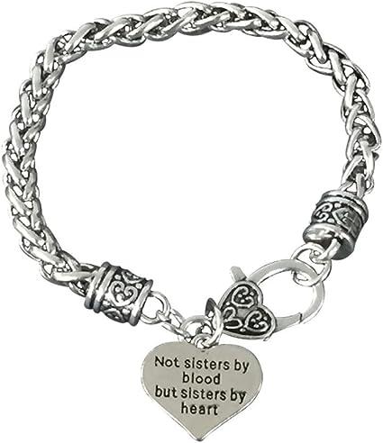 Not Sisters By Blood But Sisters By Heart Bracelet Best Friends Bracelet