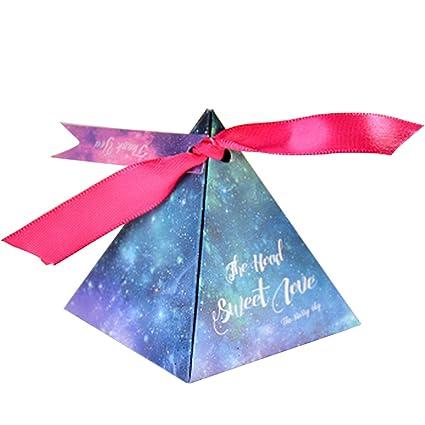 Amazon Com Autulet Extra Large Cone Favor Boxes Blue Sky Cardboard