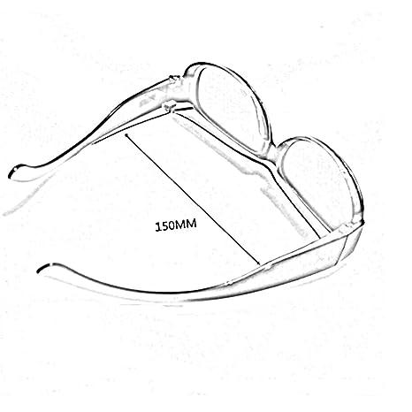 HONEY La combinaison de lunettes de soleil polarisées de myopie, les lunettes de sport sont conçues au-dessus des verres de prescription ( Couleur : B )