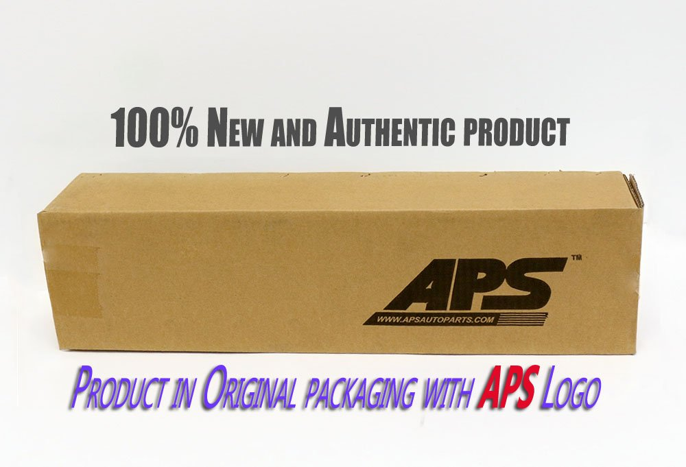 APS Compatible with 05-09 Ford Mustang V6 Billet Grille Combo Upper+Lower Bumper F67984A by APS