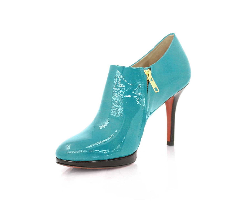 Stiefeletten AnkleStiefel Stiletto 9cm Lagune Lackleder