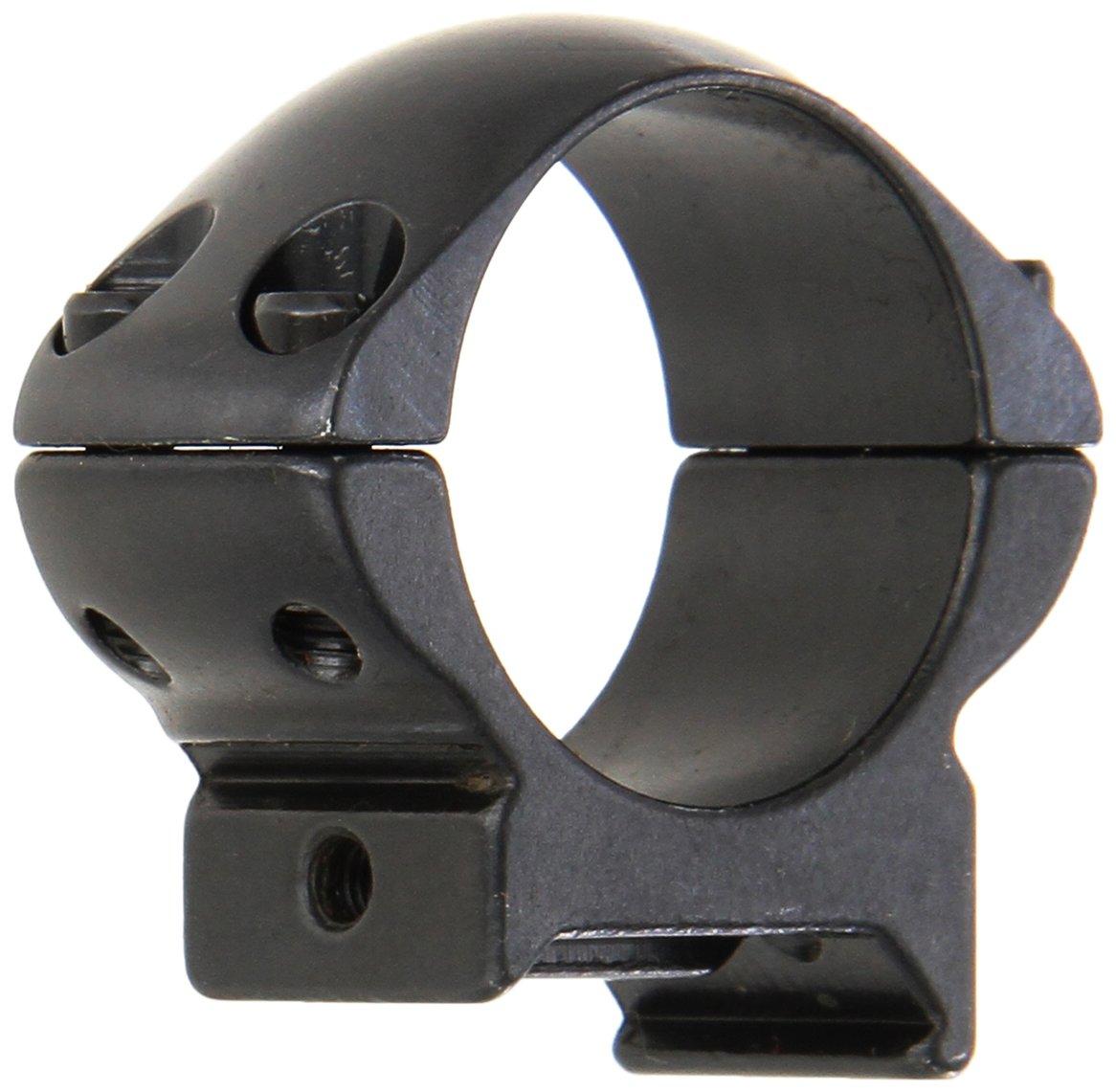 WEAVER Grand Slam Steel 1-Inch Medium Top Mount Rings (Gloss Black) by WEAVER