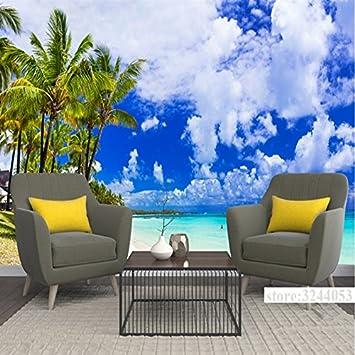 Mbwlkj Tapete Benutzerdefinierte Hintergrundbilder Strand Wandbilder ...