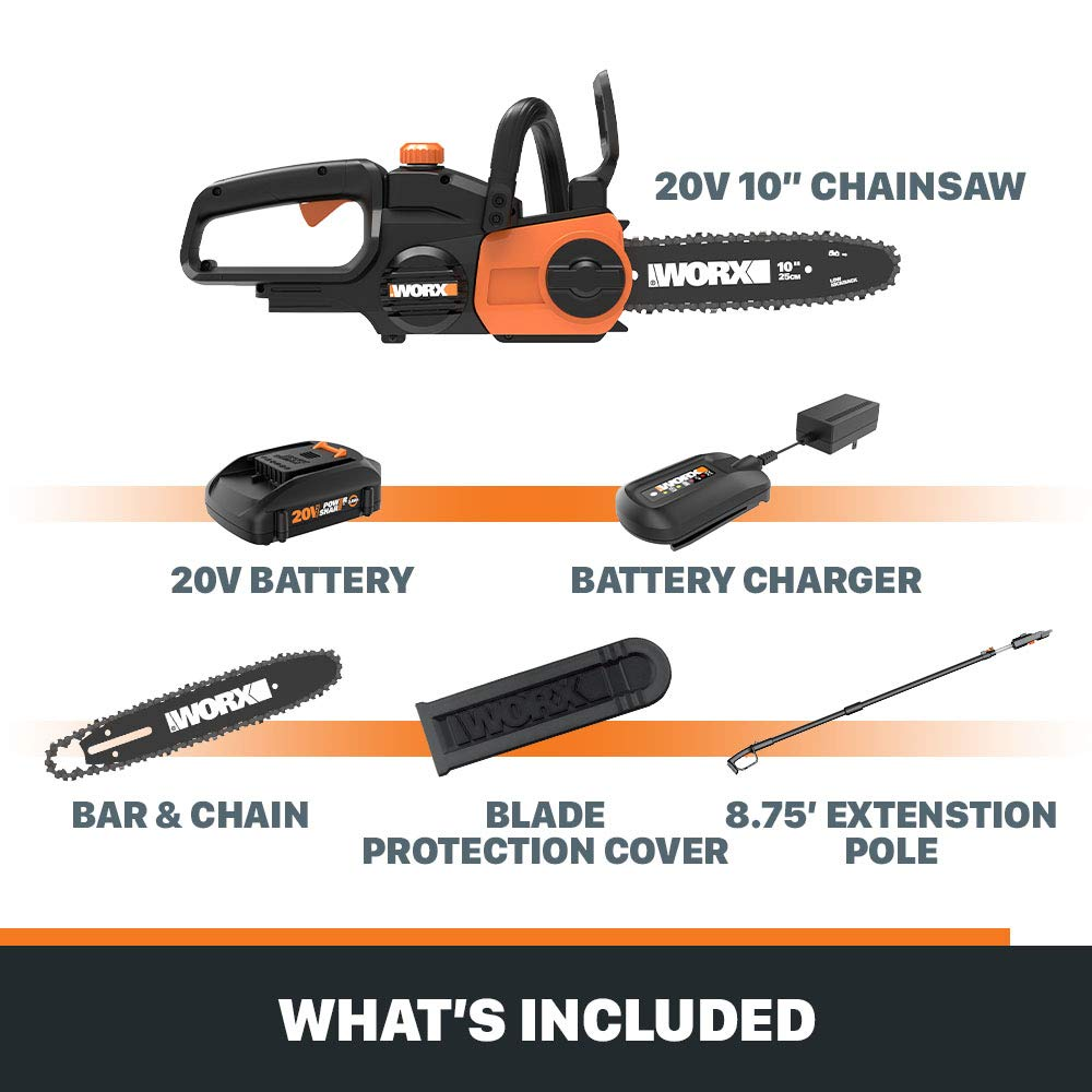 WORX WG323 Chainsaws product image 6