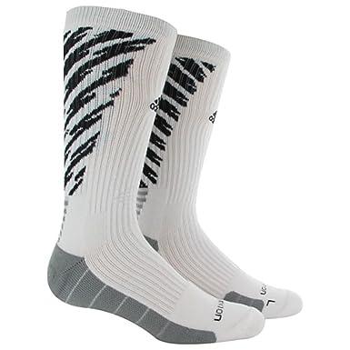 Adidas Team Speed Crew Socks Traxion - Medium - White Black - 5132747 c1a176e8b