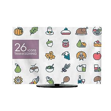 Cartel de Letras para el día de Acción de Gracias para la TV ...