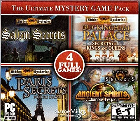 The Ultimate Mystery Game Pack (Window Ultimate 7)