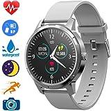 Hiwatch Smart Watch Fitness Tracker Smart Watch IP68 Rastreador de Actividad a Prueba de Agua Monitor de sueño, Contador de Pasos, Reloj Deportivo Inteligente para niños, Mujeres y Hombres