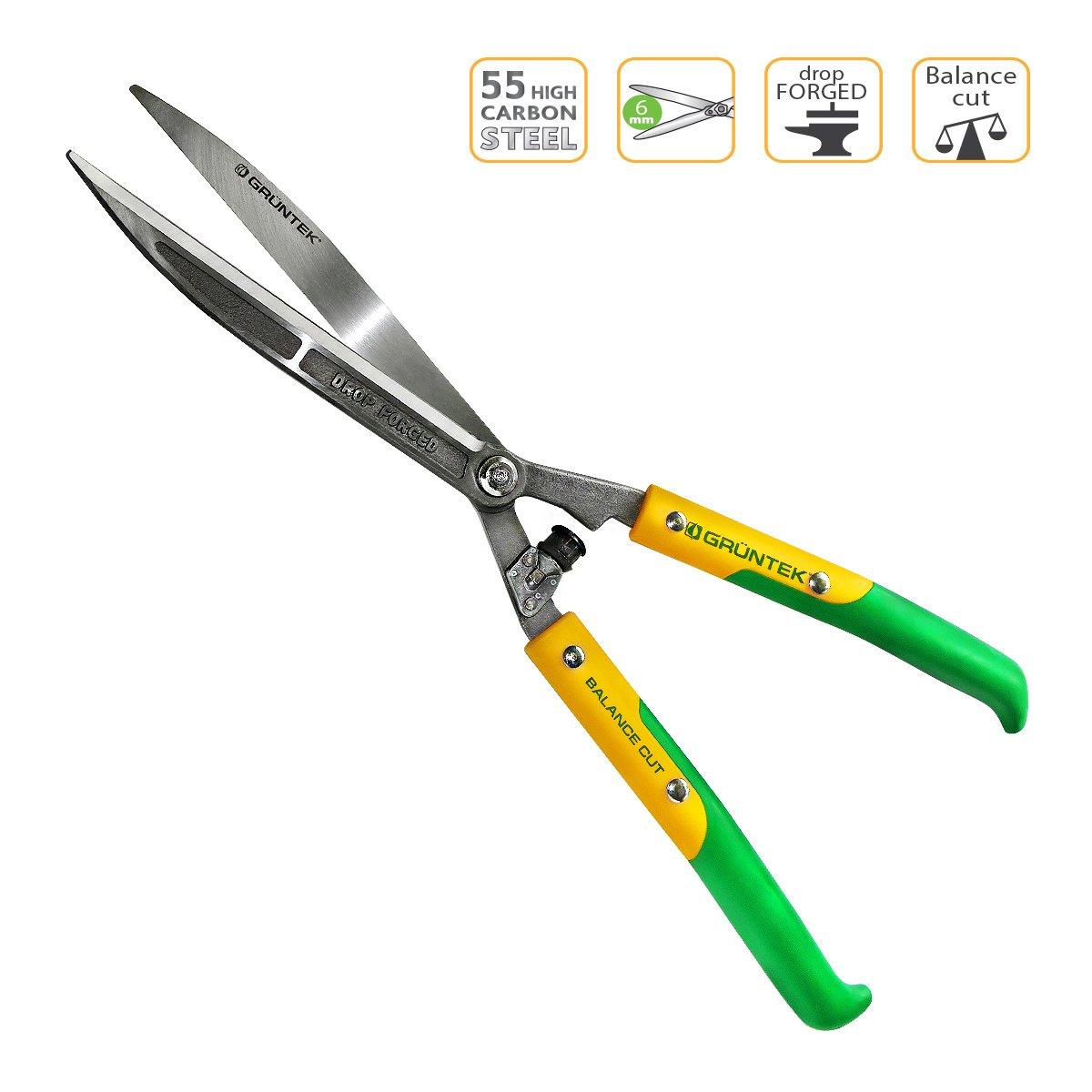 GR/ÜNTEK Cisailles /à Haie Forg/ée Cisailles de Jardin droits Q 23 // 600 mm Garantie de satisfaction 90 jours!