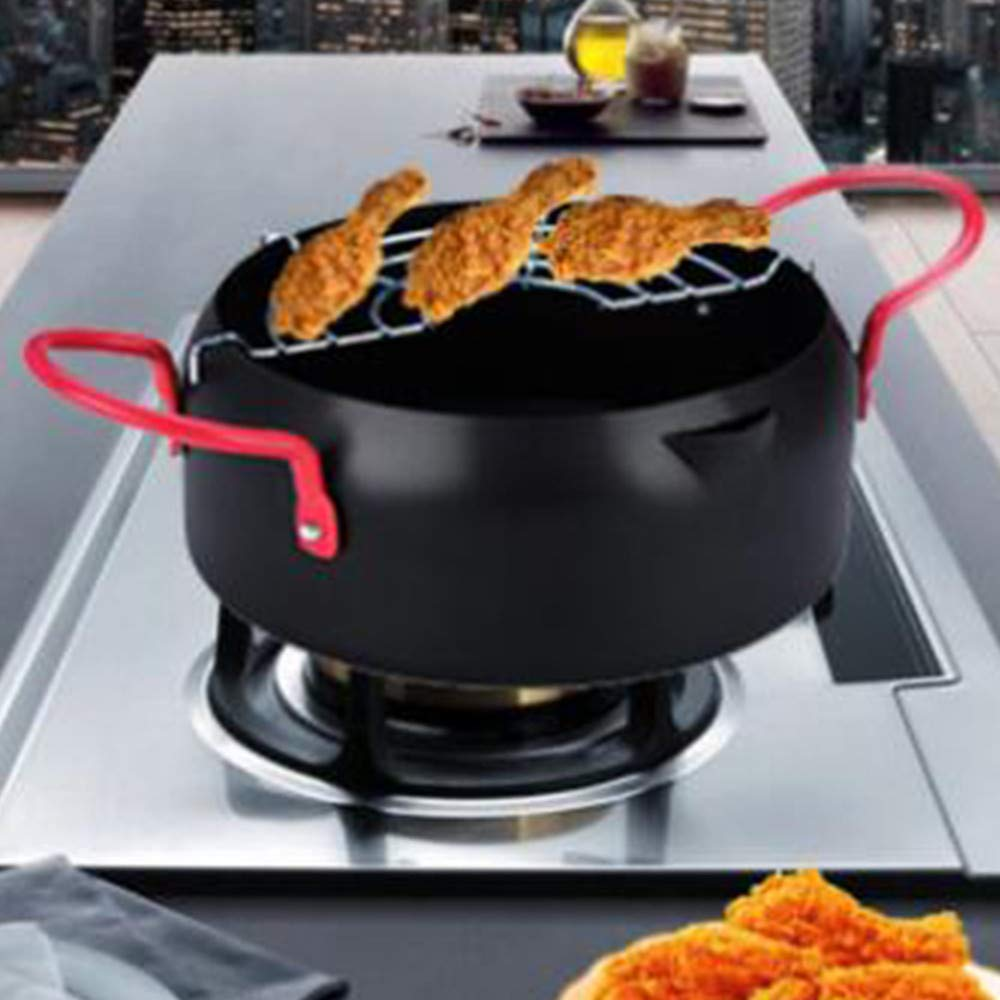 Funwill 22cm Japanese Fried Tempura Pot For Household Fryer by funwill (Image #2)