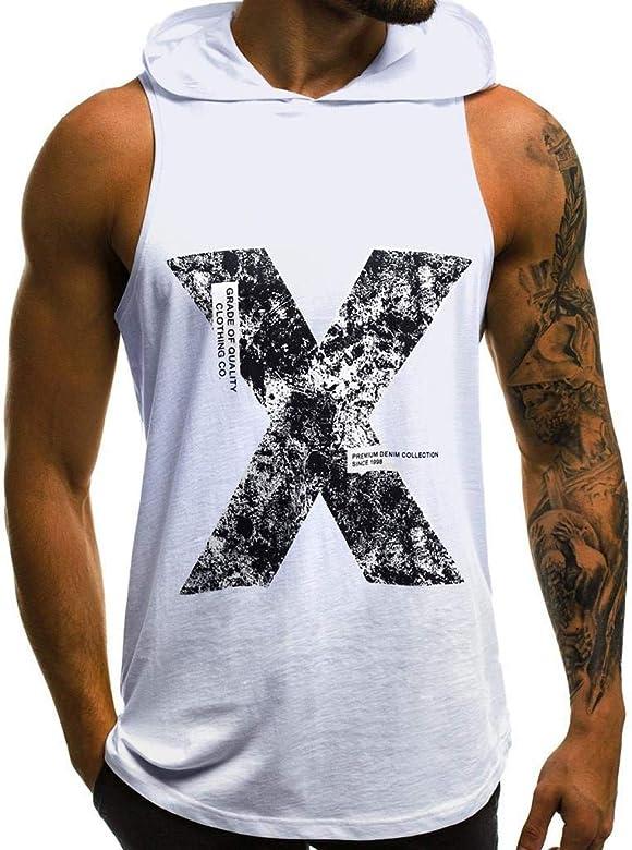 Camisetas Hombre Tirantes Gym SHOBDW Moda Hombre 2019 Camisetas ...