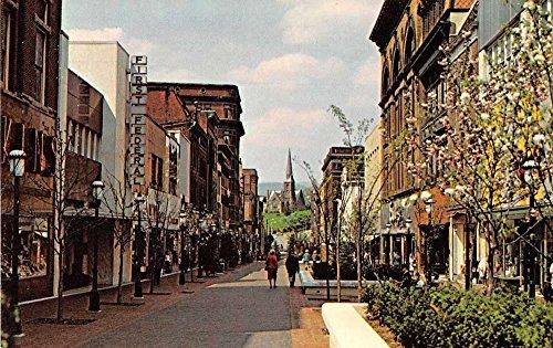 Cumberland Maryland Cumberland Mall Vintage Postcard - Cumberland Mall