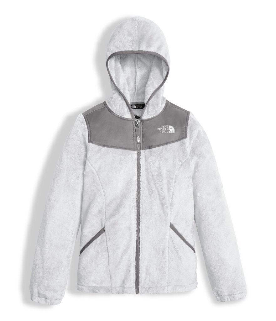 The North Face Girl's Oso Hoodie - TNF White - M (Past Season)