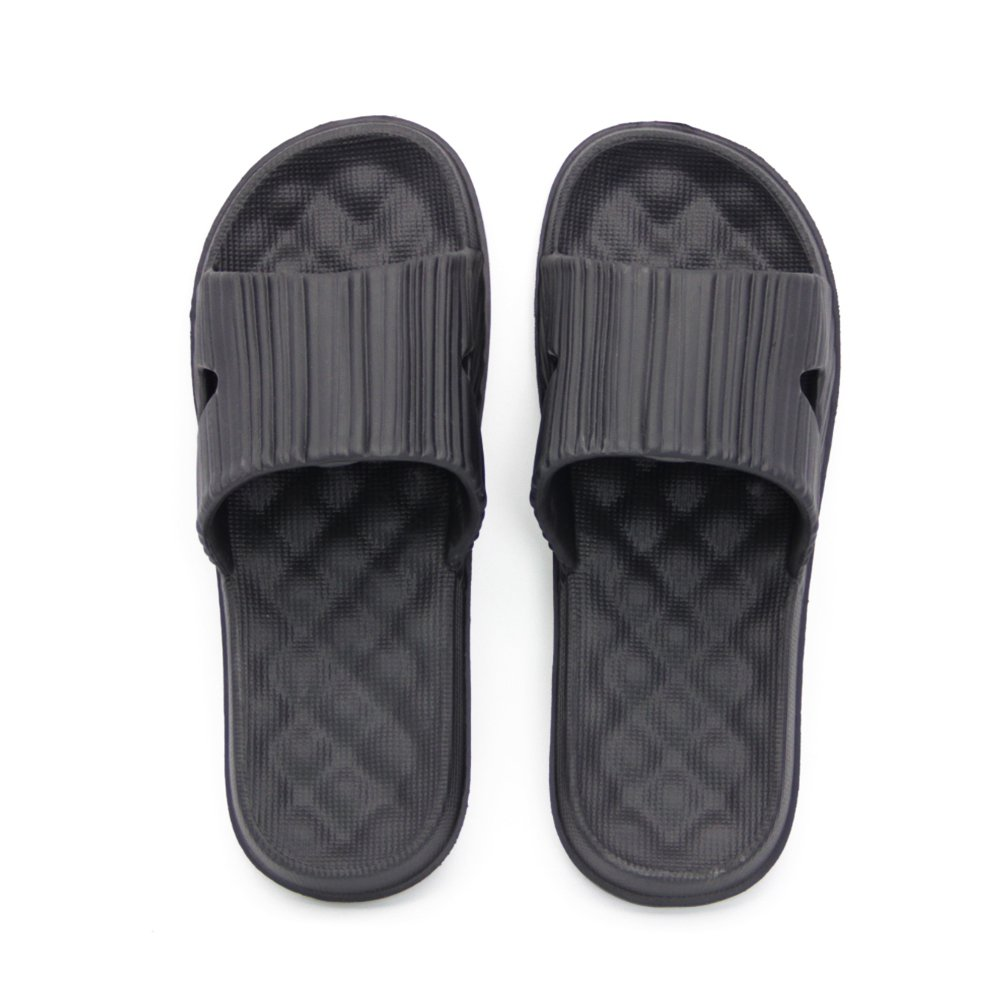 GuanZo Shower Slipper, Bathroom Non-Slip Slippers, House and Pool Sandals, in-Door Slipper with Messaging Effect