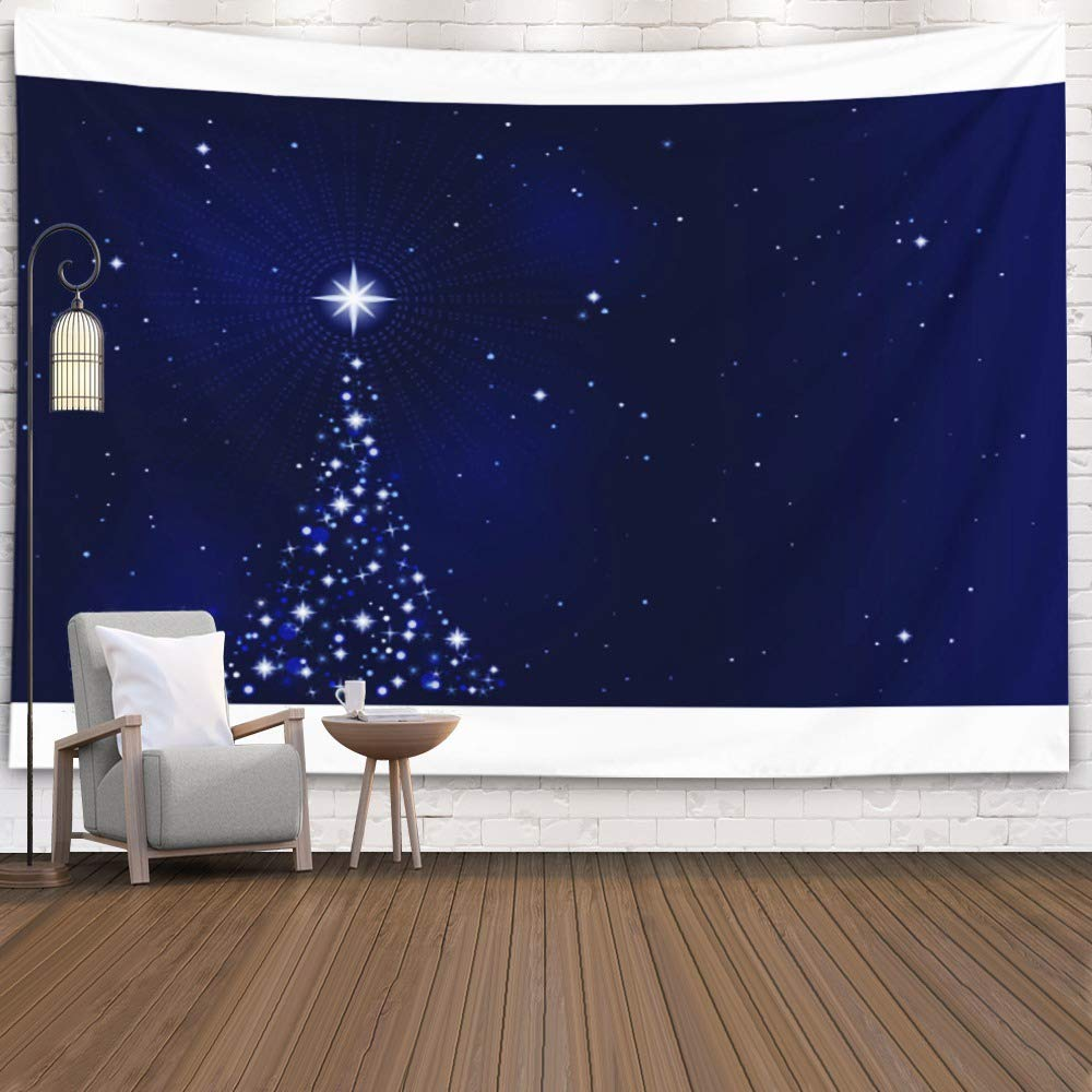 Gesmatic Bedroom Tapestry Ceiling Tapestry 40X30 Inches Tapestry Wall Hanging LandscapeMountainsMoonlightNight Dorm Tapestry Wall Decor Tapestry for Bedroom
