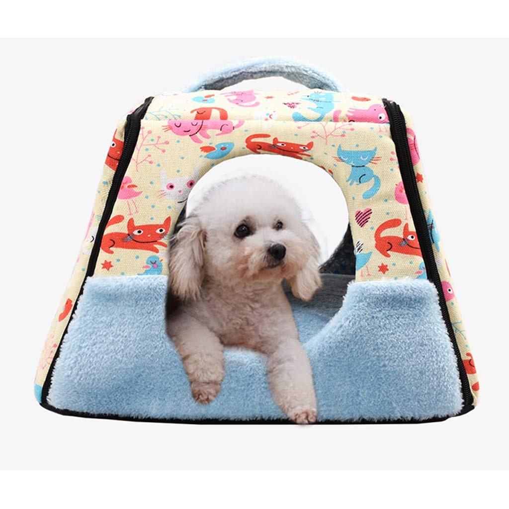 A L A L WANGXIAOLIN Dog Bed, Pet Bed, Small And Medium Cat Litter, Winter Dog House, Dog Bed, Cat House, Four Seasons Universal (color   A, Size   L)